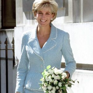 Iconic Chanel Vintage Lady Diana Spring 1997 Suit